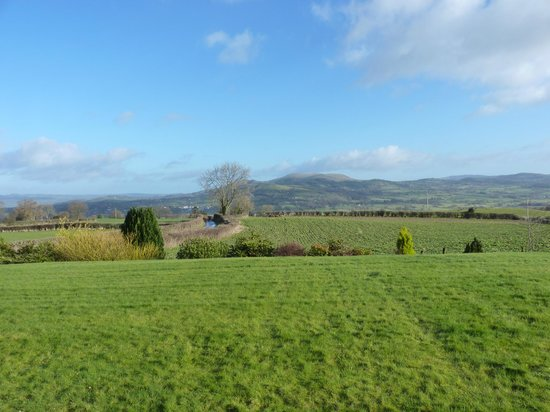Oakley B&B: View from the house