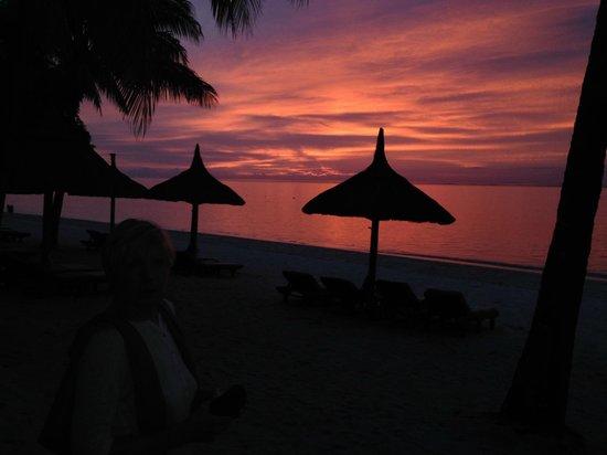 Beachcomber Paradis Hotel & Golf Club : quelques vues paradisiaques coucher de soleil