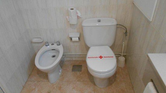 azuLine Hotel Bergantin: Baño