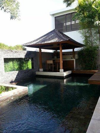 Tegal Sari: Sarang Bambu - Pool + Kitchenette
