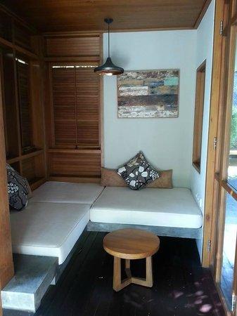 Tegal Sari: Sarang Bambu - Resting corner