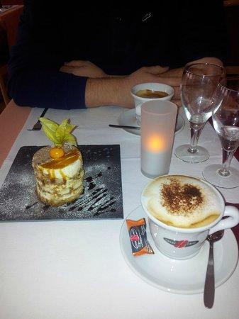La Mia Cucina : Tiramisu maison avec sauce au caramel
