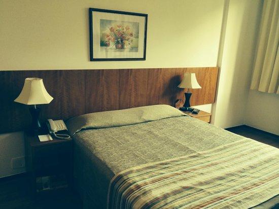 Hotel Novo Mundo: Quarto