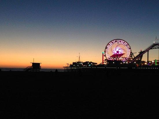 JW Marriott Santa Monica Le Merigot : Santa Monica pier shot with my Iphone
