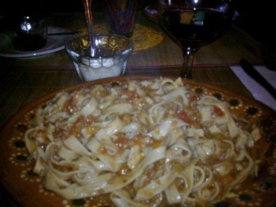 L'Arrabbiata : Larrabbiata Spaghetti Bolognese