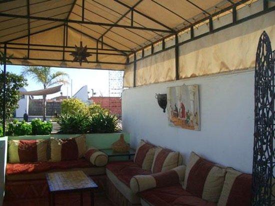 Riad Villa Harmonie: Roof garden