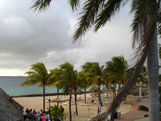 Plaza Resort Bonaire : Uitzicht vanuit kamer