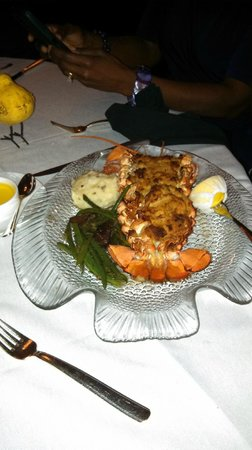 Natalia's: Stuffed Lobster Tail