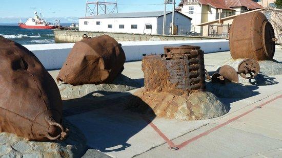 Muelle de Carga: Reste der Verladeanlagen