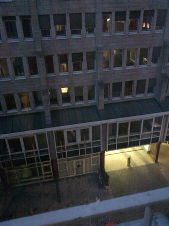 Eden Hotel Wolff: вид из окна