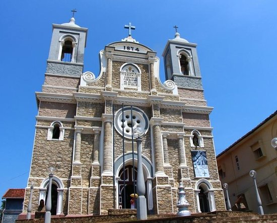 Old Town of Galle and its Fortifications: St. Mary's Cathedral - in the town of Galle