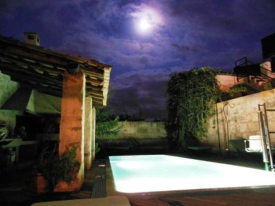 Hotel Can Joan Capo: Pool by Night