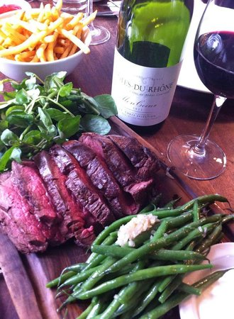 The Wells Tavern: Chateaubriand for two