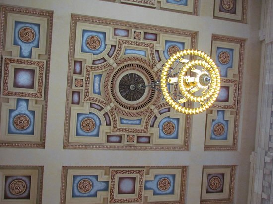 Union Station : Part of the ceiling detail