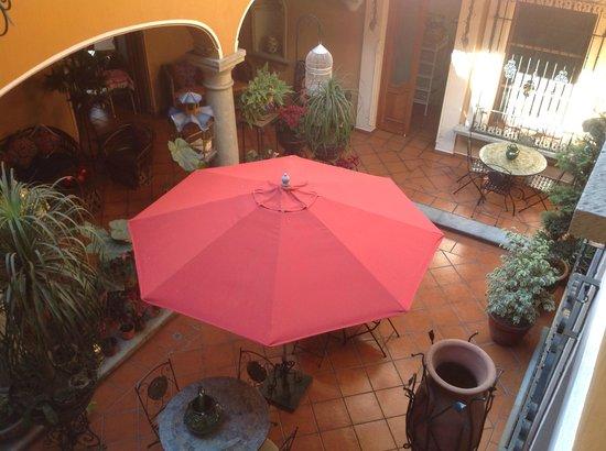Hotel Boutique Parador San Miguel Oaxaca : Courtyard