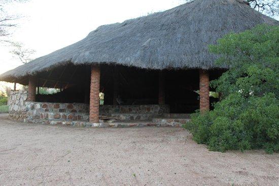Naitolia Eco-Lodge : Dining hall