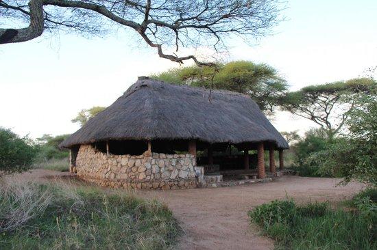 Naitolia Eco-Lodge: Dining hall
