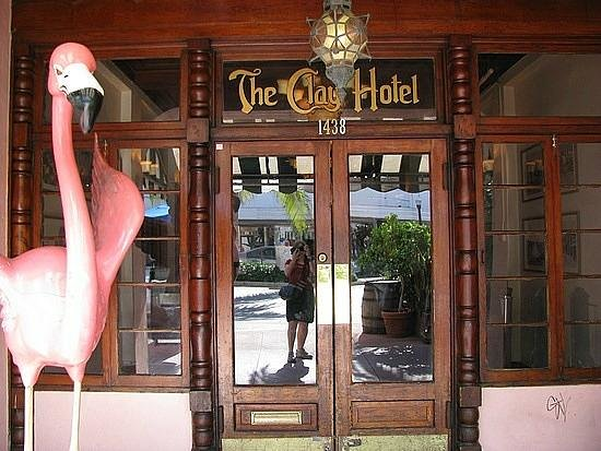 The Clay Hotel: Entrance