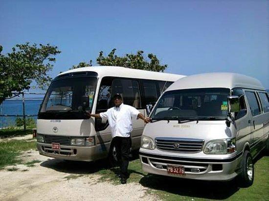 Phillip's Jamaica Tours : Phillip's Vans