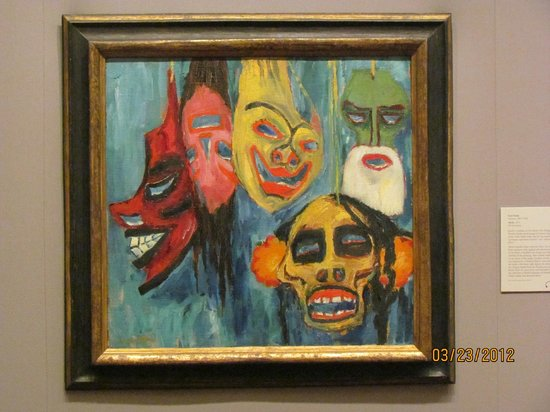 Nelson-Atkins Museum of Art: Haunting painting