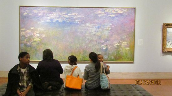 Nelson-Atkins Museum of Art: Many areas to reflect