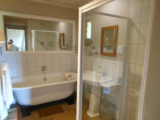 De Zeekoe Guest Farm : Bathroom
