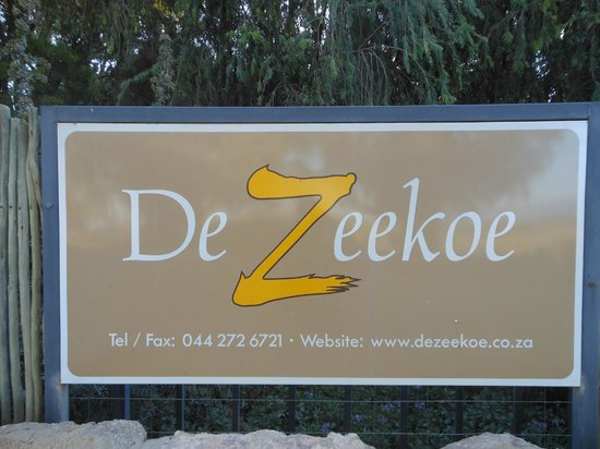 De Zeekoe Guest Farm: Welcome