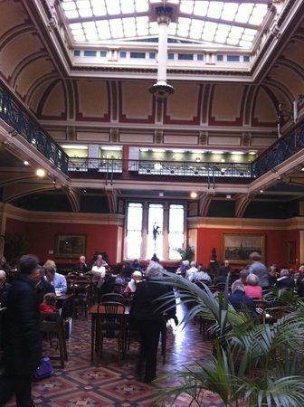 Birmingham Museum & Art Gallery: General view of the Edwardian Tea Room