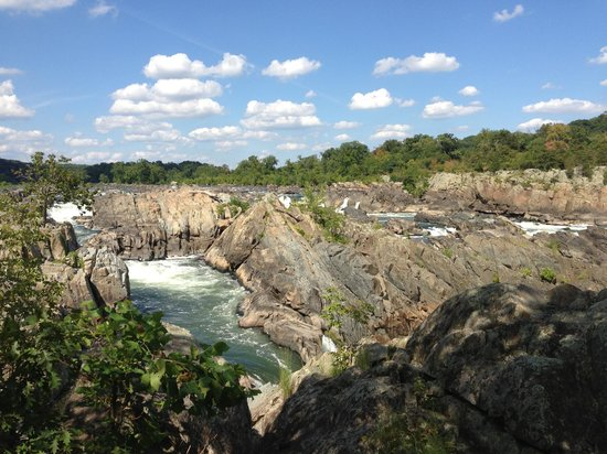 Great Falls Park : great view