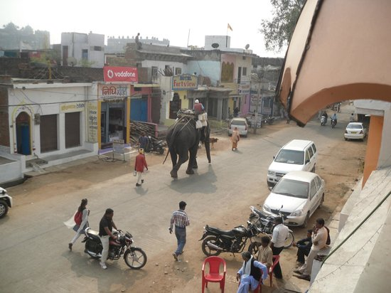 View of Main Road from dining room ...
