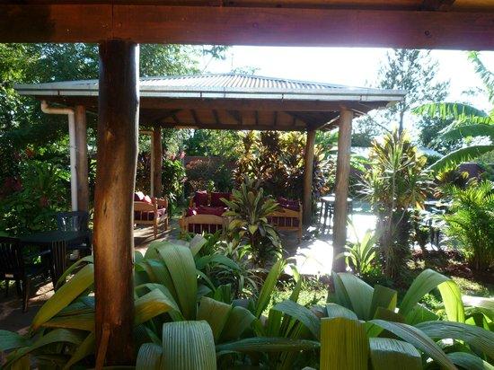 Los Tangueros: Salon de jardin (parfait pour l'apéro!)