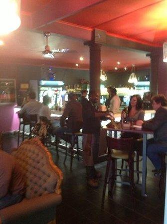 Bossa Social Cafe: BAR area