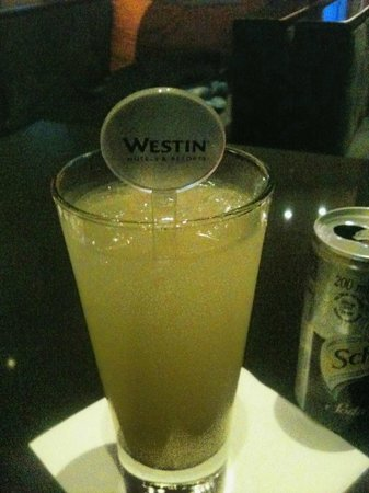 The Westin Cape Town: Delicious cocktails