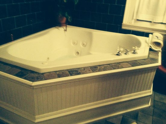 The Magnolia Plantation Bed and Breakfast Inn : My grand tub