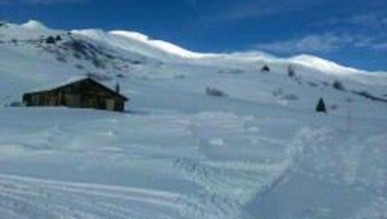 Berggasthaus Arflina: idyllischer ausblick