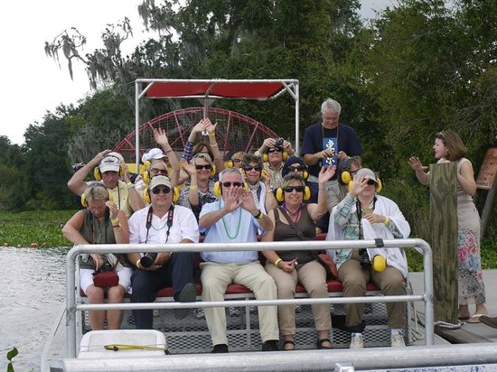 Tours by Isabelle: Ginny and the Airboat