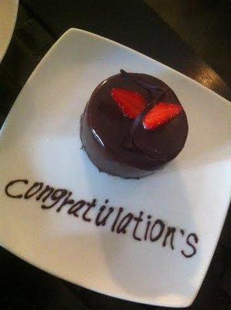Aditya: Best dessert ever!