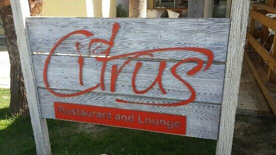 Citrus Restaurant: Good place