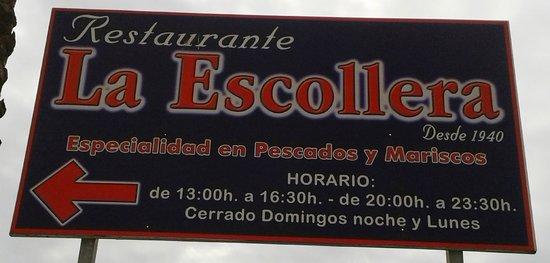 Restaurante La Escollera: La Escollera