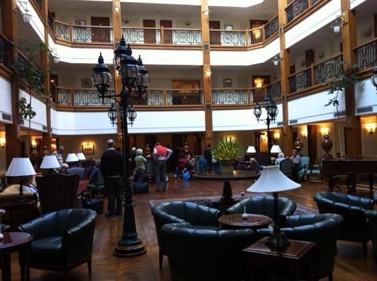 The Oberoi Cecil, Shimla: Atrium of Oberoi Cecil Hotel