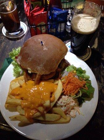 Kilians Irish Pub: Geniale Burger!