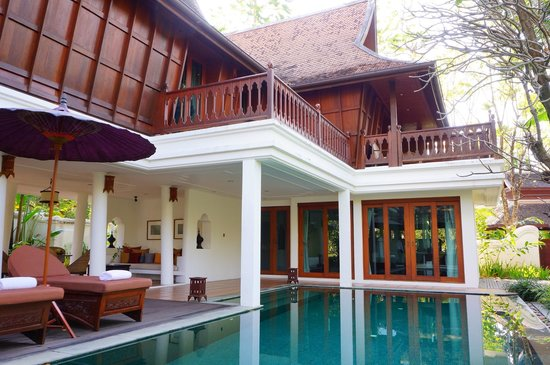 The Dhara Dhevi Chiang Mai: Grand Deluxe Villa with Pool