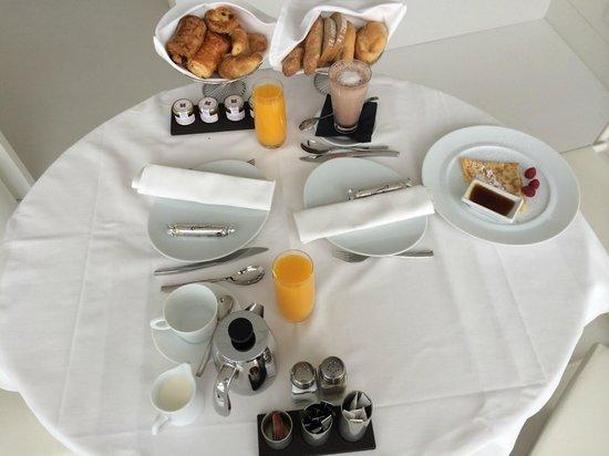 Sofitel Vienna Stephansdom: petit déjeuné