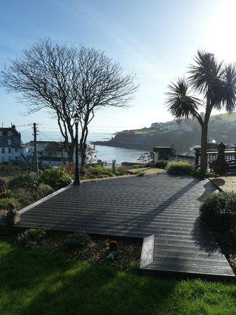 Portmellon Cove Guest House : View from our room