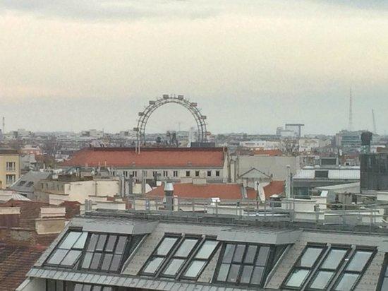 Sofitel Vienna Stephansdom: Vue sur la roue