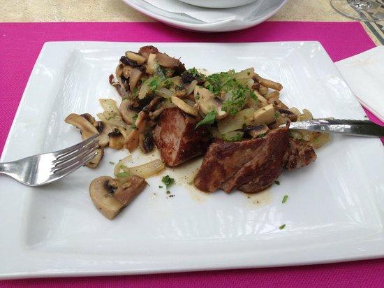 Restaurante El Hidalgo: Specialiteit Iberisch varken
