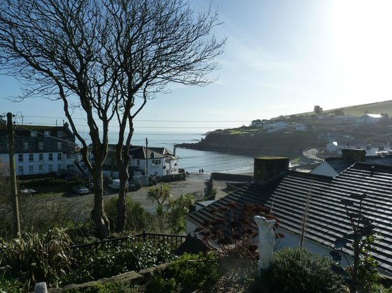 Portmellon Cove Guest House : View from bedroom