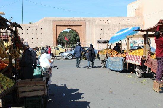 Riad Les Lauriers Blancs: Vers fruit om de hoek bij riad