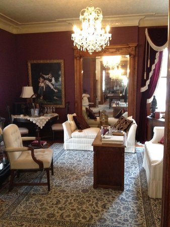The Oliver-Leming House: Music room