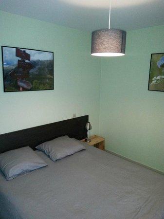 Hostellerie de Rimplas : Chambre double, grand lit